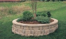 How To Build A Retaining Wall Pavestone Landscaping Around Trees Front Yard Landscaping Building A Retaining Wall