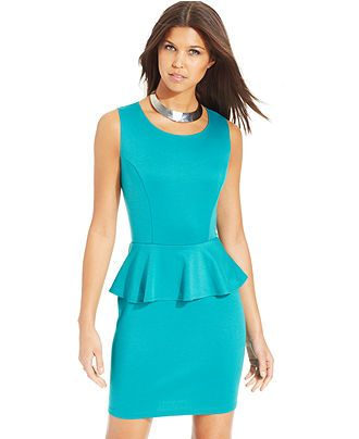 Peplum Sheath Dress on Chiq $0.00 : Buy Trends on CHIQ.COM http://www.chiq.com/peplum-sheath-dress