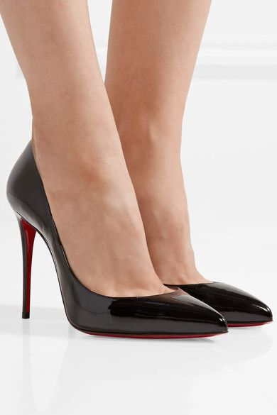 8e69731456d CHRISTIAN LOUBOUTIN Elegant Pigalle Follies 100 patent-leather pumps ...
