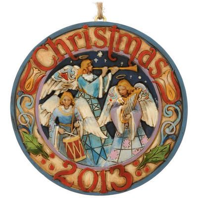 Jim+Shore+2013+Dated+Heralding+Angels+Ornament