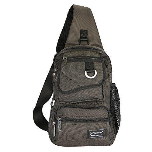 Vanlison Sling Bag Backpack Cross Body Messenger Bag Shoulder Backpack Travel