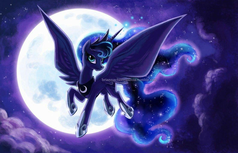 мой маленький пони лунная пони картинки даже