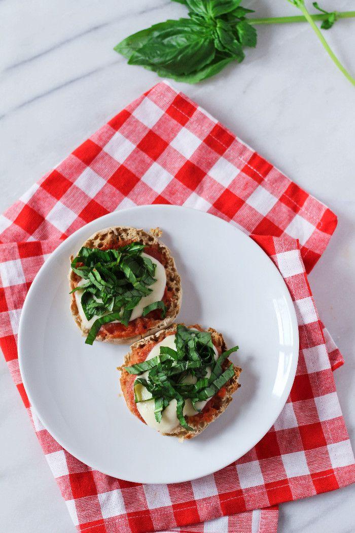 Mozzarella & Basil Breakfast Pizza   Zen & Spice