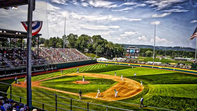 Little League Baseball World Series News Volunteer Stadium Will Be Ready For The 2018 Llws Llw Little League Little League Baseball Baseball World Series