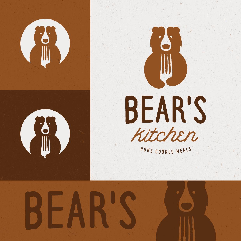 Home Kitchen Logo Bear Logo For Bears Kitchen  Logo  Логотипы  Pinterest  Logos