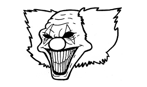 Resultado De Imagen Para Payasos Diabolicos Para Dibujar Payaso Diabolico Dibujos Payasos
