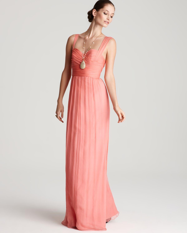 Long bridesmaid dress option | NC | Pinterest