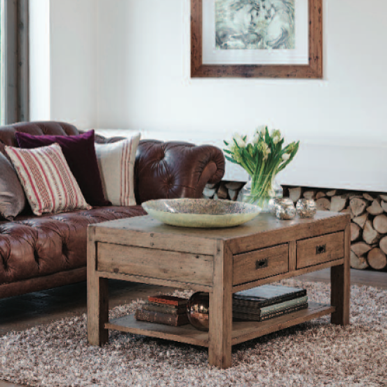 Handcrafted Wooden Living Room Furniture Cotswold Reclaimed Wood