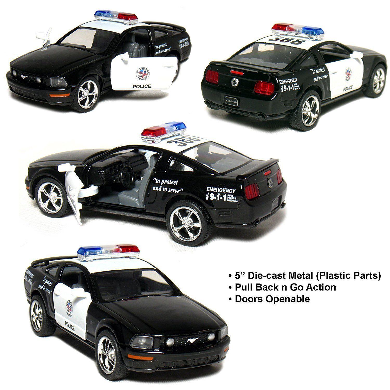 New 5 Kinsmart 2006 Ford Mustang Gt Police Car Diecast Model Toy Cop 1 38 Ford Mustang Gt Mustang Gt 2006 Ford Mustang
