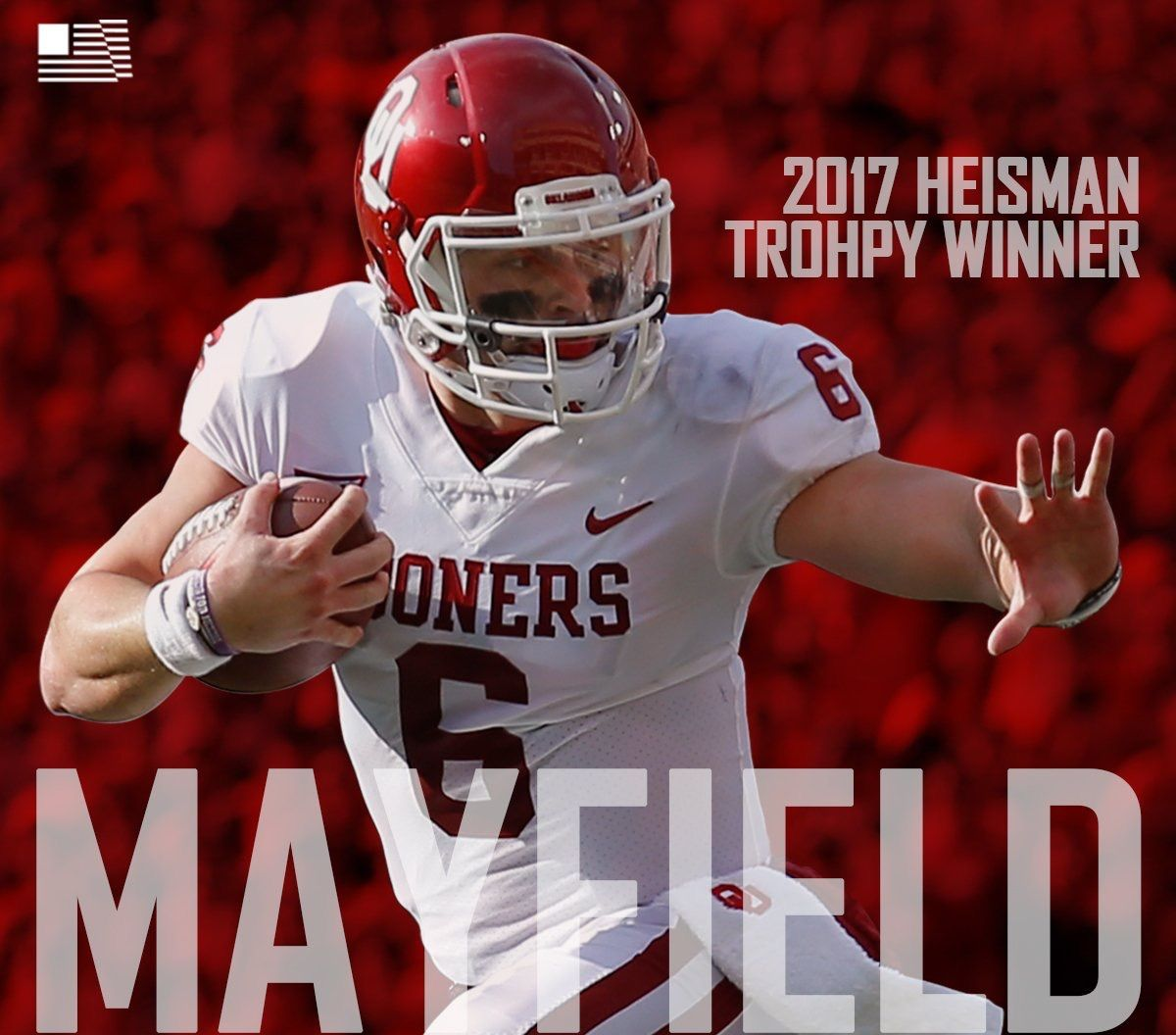 factory authentic ae5dc 954b1 BakerMayfield #6 #OU #Sooners #Football #BoomerSooner | OU ...