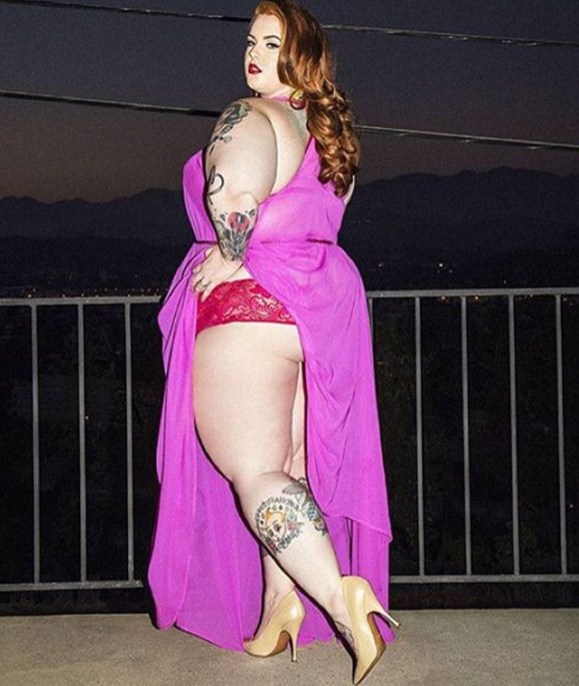 plus-size model tess holliday slams victoria's secret for