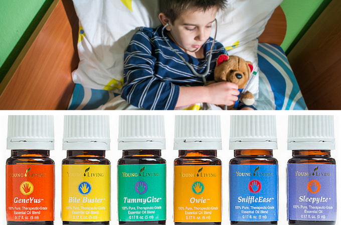KidScents® Oil Collection is a comprehensive kit that addresses the most common concerns of childhood. This kit includes six, mild essential oil blends, formulated just for children: *GeneYus™ *Ow...