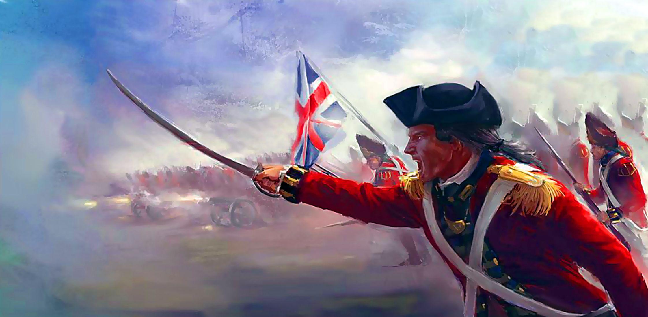 Ascendancy of the British empire American revolutionary