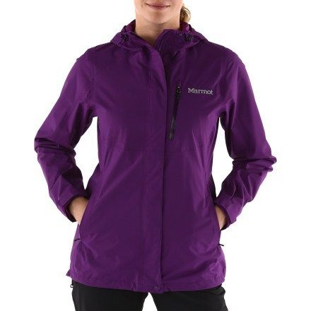 Marmot Rincon Rain Jacket - Women s Color  Dark Berry Size  M ... c427a43b51
