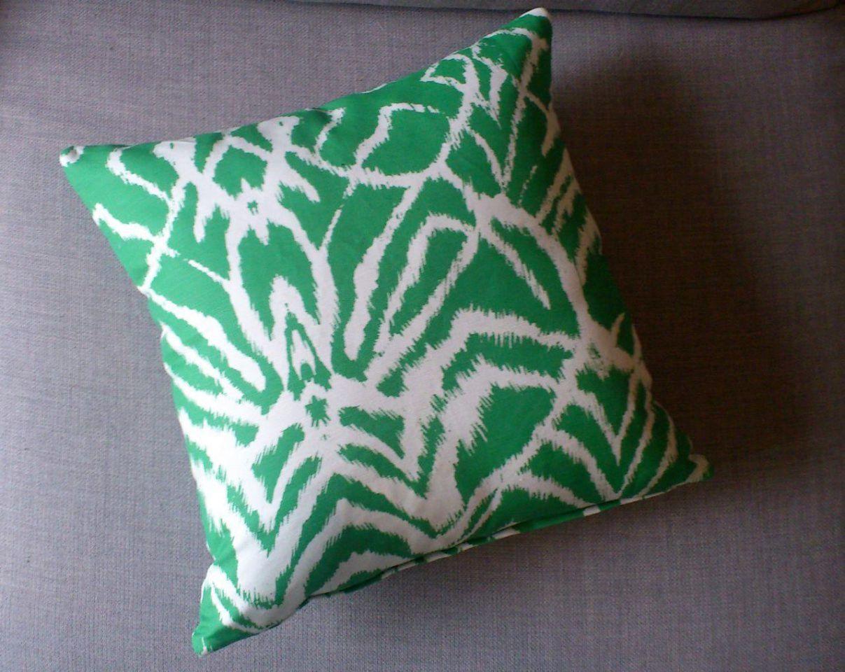 Emerald wild ikat cushion cover by tangoandjameshome on etsy ikat