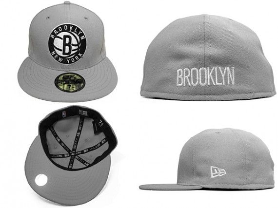 Brooklyn Nets x New Era - 59FIFTY Fitted Cap Custom Color Collection ... c275b49301c9
