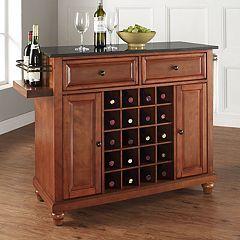 Crosley Furniture Cambridge Granite Wine Table