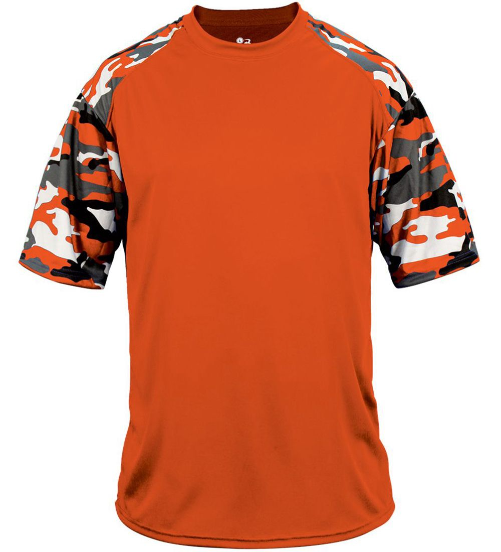 27616983 E98219 Badger Sport Camo Sport Performance Tee Shirt | Billiard ...