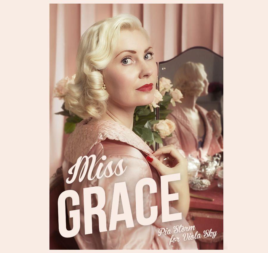 Miss Grace lingerie - Pia Storm for Viola Sky. www.stormsmagasin.dk