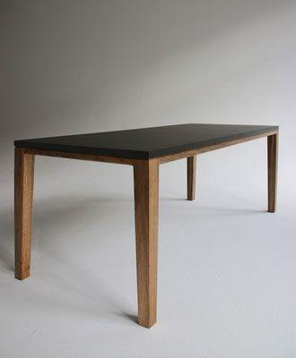 Tisch Esstisch Schreibtisch R10 Valchromat Anthrazit Nussbaum Geolt