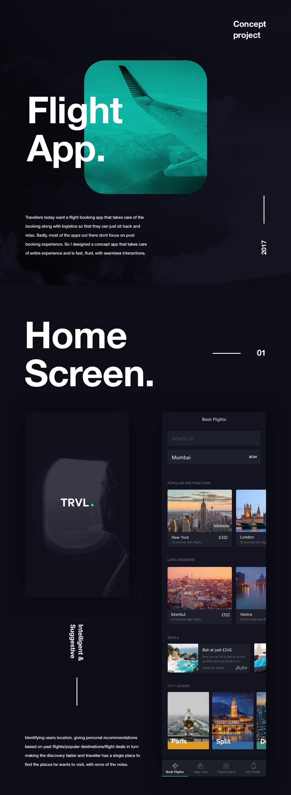 Flight App Concept + UI Kit on Behance