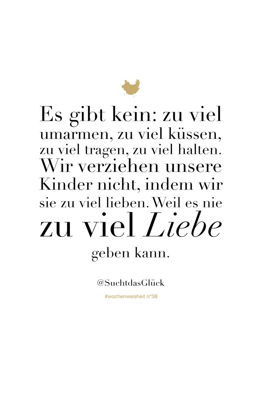 Wochenweisheiten - Chez Mama Poule quotes quotes about love quotes for teens quotes god quotes motivation