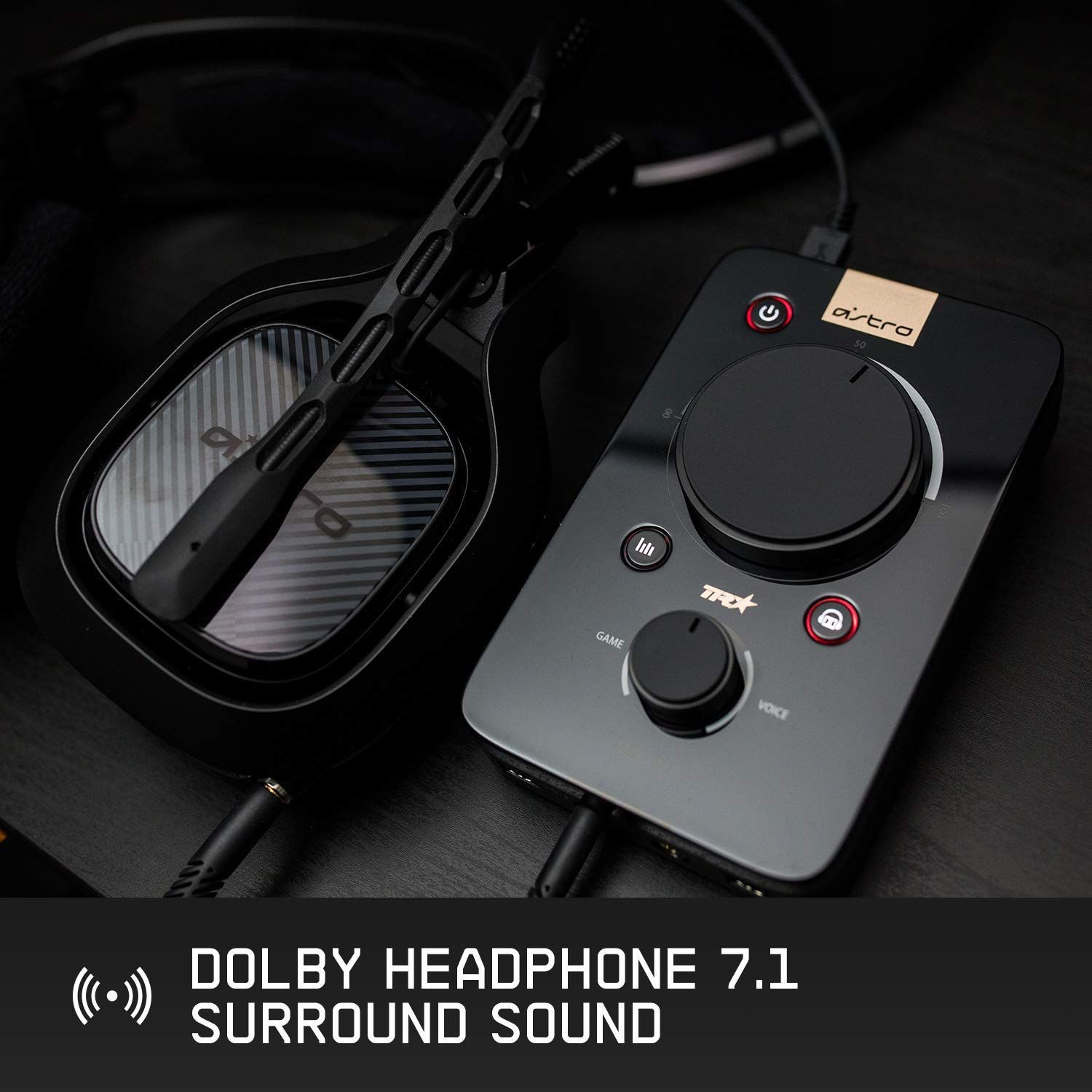 2channel dolby surround sound customizable stream output
