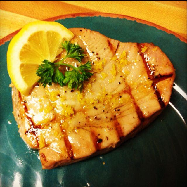Les 25 meilleures id es de la cat gorie steak de thon marinades sur pinterest thon grill - Recette steak de thon grille ...