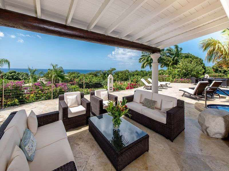 Grand Villa, in a lovely setting in Saint James, Barbados! Set in the prestigious Calijanda Estate in Westmoreland, with stunning views towards the sea. #Barbados #Westmorland #LuxuryVilla #CalijandaEstate #SeaViews #HouseHunting #LocationLocationLocation #RealEstate #HomeSale #HomesForSale #MillionDollarListing #PrivateEstate