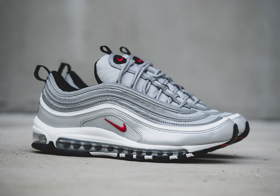 Nike Air Max 97 Silver Bullet Release Date Info Sneakernews Com Nike Air Max 97 Nike Air Nike Air Max
