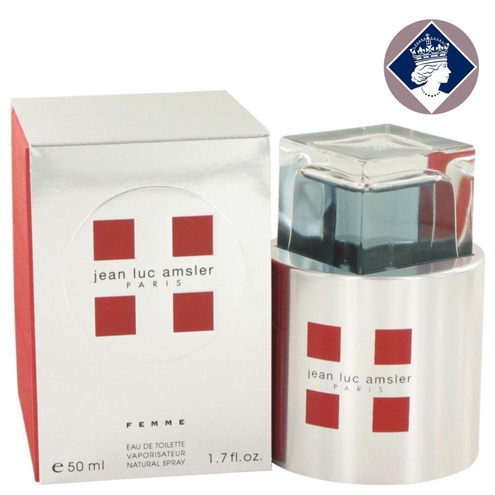 Jean Luc Amsler Paris Femme 50ml Eau De Toilette Spray EDT Perfume for Women NEW