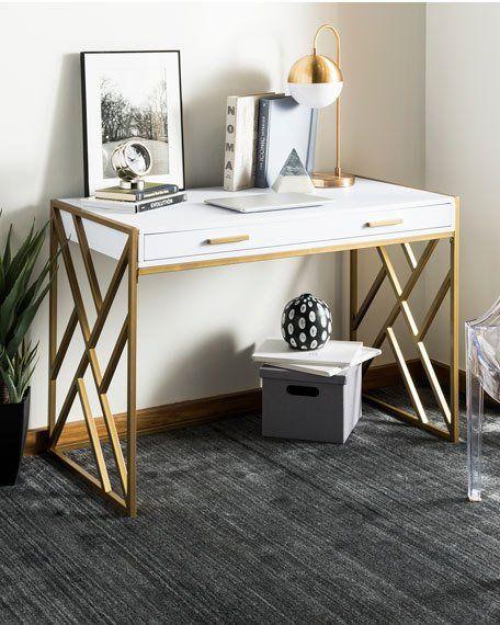 Safavieh Elaine 2-Drawer Writing Desk