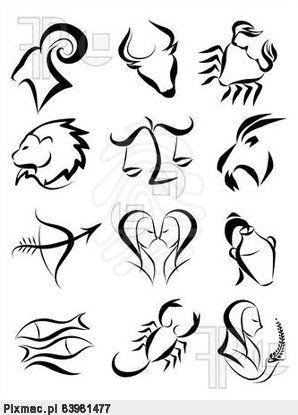 Wodnik Znak Zodiaku Szukaj W Google Rozne Znaki