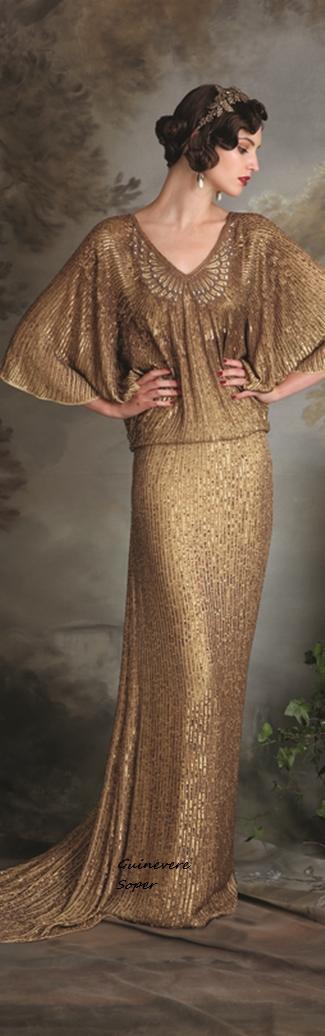 Eliza J. Howell Vintage Dresses Inspiration 2015-2016 RTW (Debutante Collection)