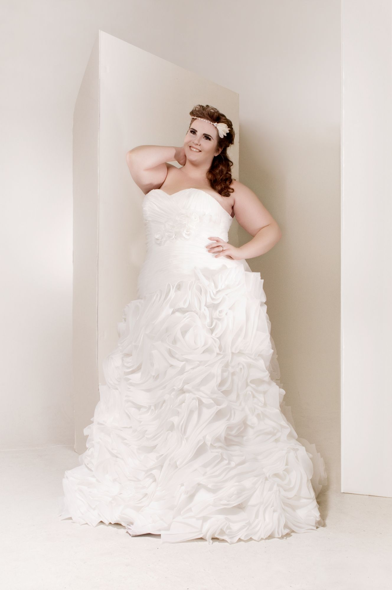 Full figure wedding gown #designer plus size wedding gown   My ...