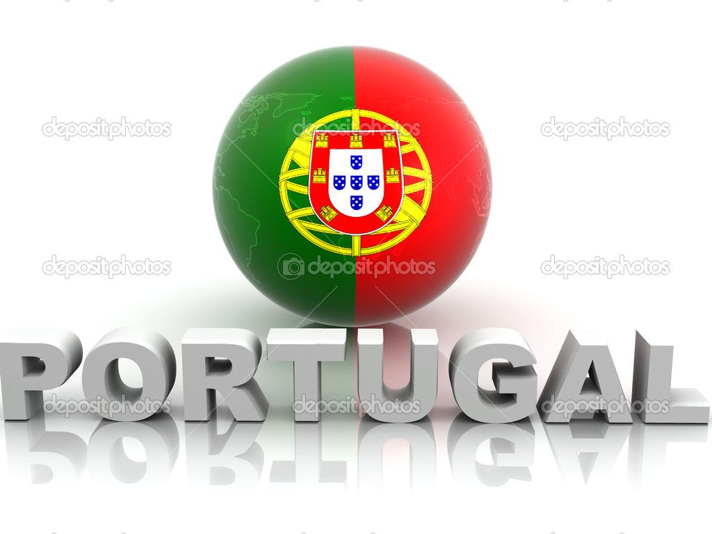 National Symbols Of Portugal Symbol Of Portugal Stock Photo