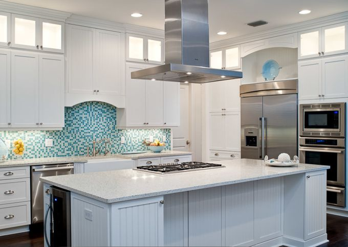 House of Turquoise: RTG Construction | white kitchen