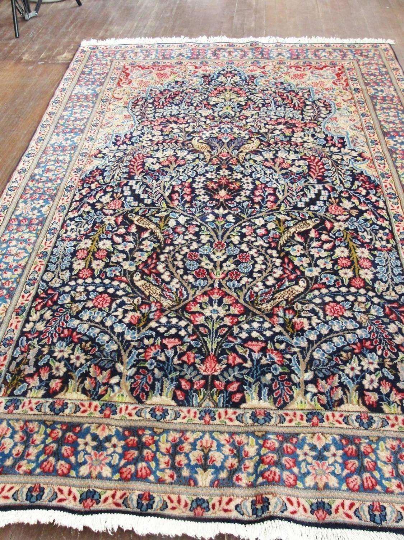 Magnificent Persian Kerman Tree Of Life Rug Rugs Persian Persian Rug