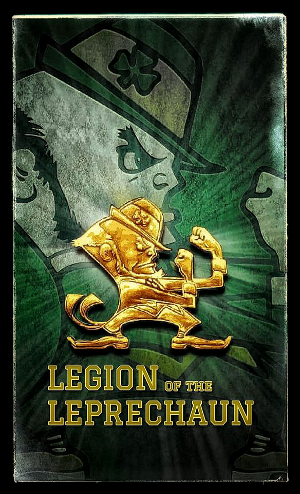 Need A New Notre Dame Wallpaper For Your Smartphone Design By Legion Of The Lepre Notre Dame Fighting Irish Football Notre Dame Football Notre Dame Wallpaper