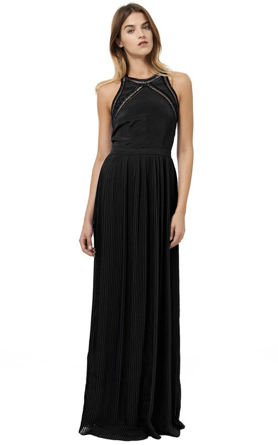 Rebecca Taylor Beaded Ladders Pleated Gown on shopstyle.com | Womens ...