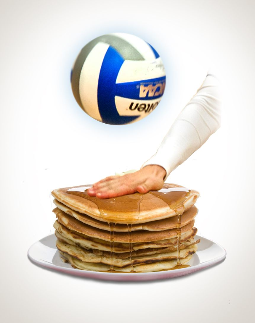 Breakfast of (Volleyball) Champions #Volleyball