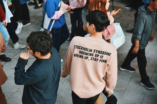 Seoul Fashion Week. Street Style. Photo by Nicholas Garbagelapsap.  menswear mnswr mens style mens fashion fashion style streetstyle