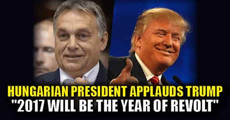 """Hungarian President Orban gave a very """"pro-West"""" Christmas message that insists the EU needs a YUGE upheaval. Orban also praised Trump's victory as the start of a new revolt in 2017. From Gateway Pundit : He said: """"It is unprecedented that in the heart of Europe, Christians were murdered at Christmas.""""It's clear that, in the case of migration, nothing can remain the way it was before. """"Brussels needs to change, migrants who entered Europe illegally must be deported, the borders need to be…"""