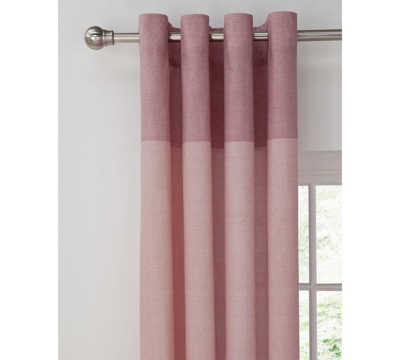 Argos Home Dublin Unlined Eyelet Curtains 117x137cm