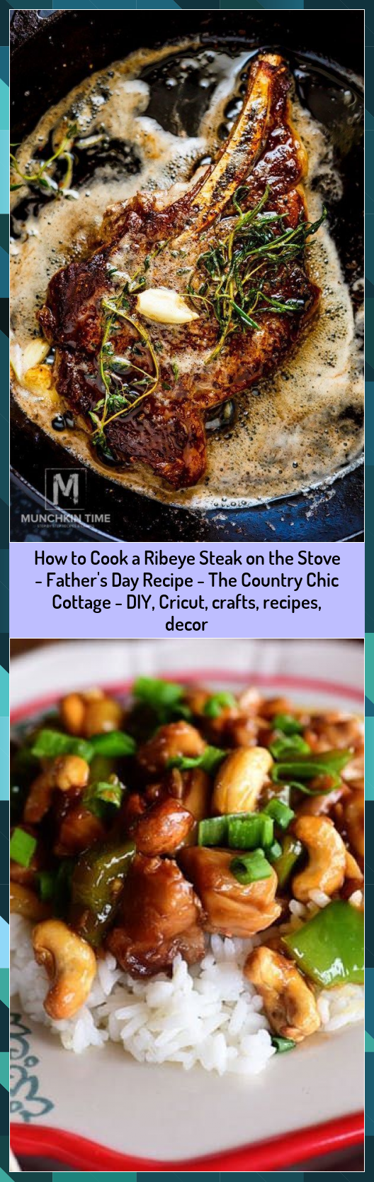 How to Cook a Ribeye Steak on the Stove - Father's Day Recipe - The Country Chic Cottage - DIY, Cricut, crafts, recipes, decor #Chic #Cook #Cottage #Country #Crafts #Cricut #Day #Decor #DIY #Fathers #Recipe #Recipes #Ribeye #Steak #Stove