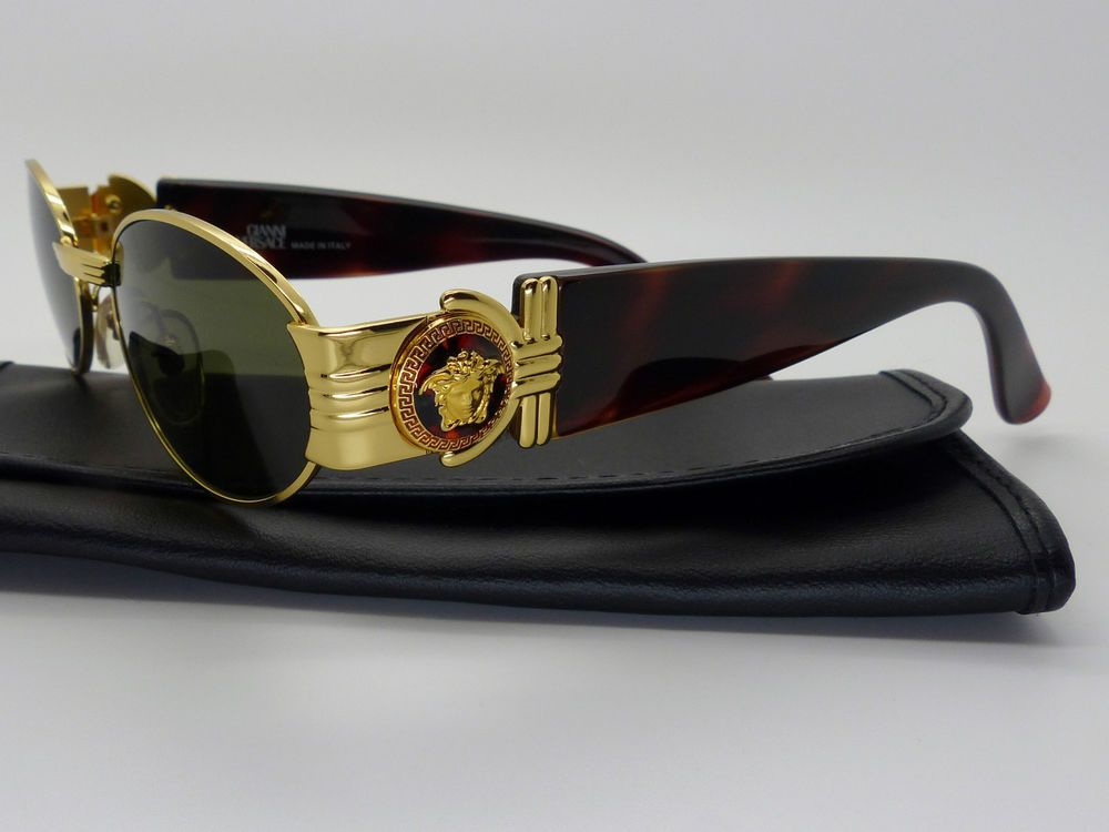 e2219f01ae7 Rare Vintage Gianni Versace Medusa Sunglasses Mod S72 Col 030 New Old Stock  #GianniVersace