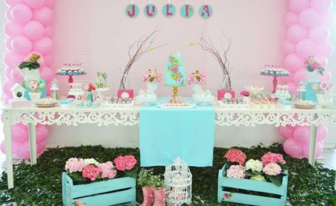 Elegant Mesa De Postres Para Baby Shower Sencilla   Buscar Con Google