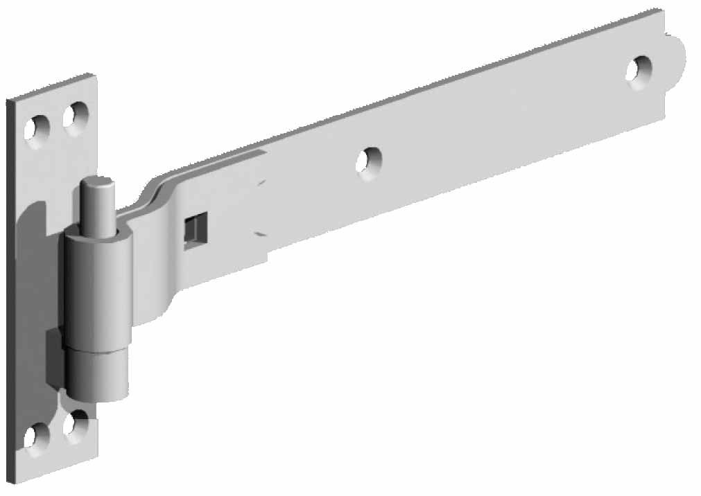 5073001 Builders Hardware Strap Hinges Stainless Steel Table Legs Lift Off Hinges