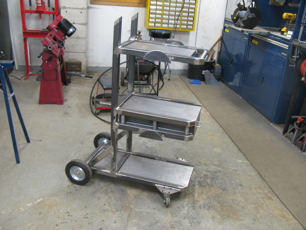 another welding cart thread garage tools and workshop pinterest werkstatt kfz und stahl. Black Bedroom Furniture Sets. Home Design Ideas