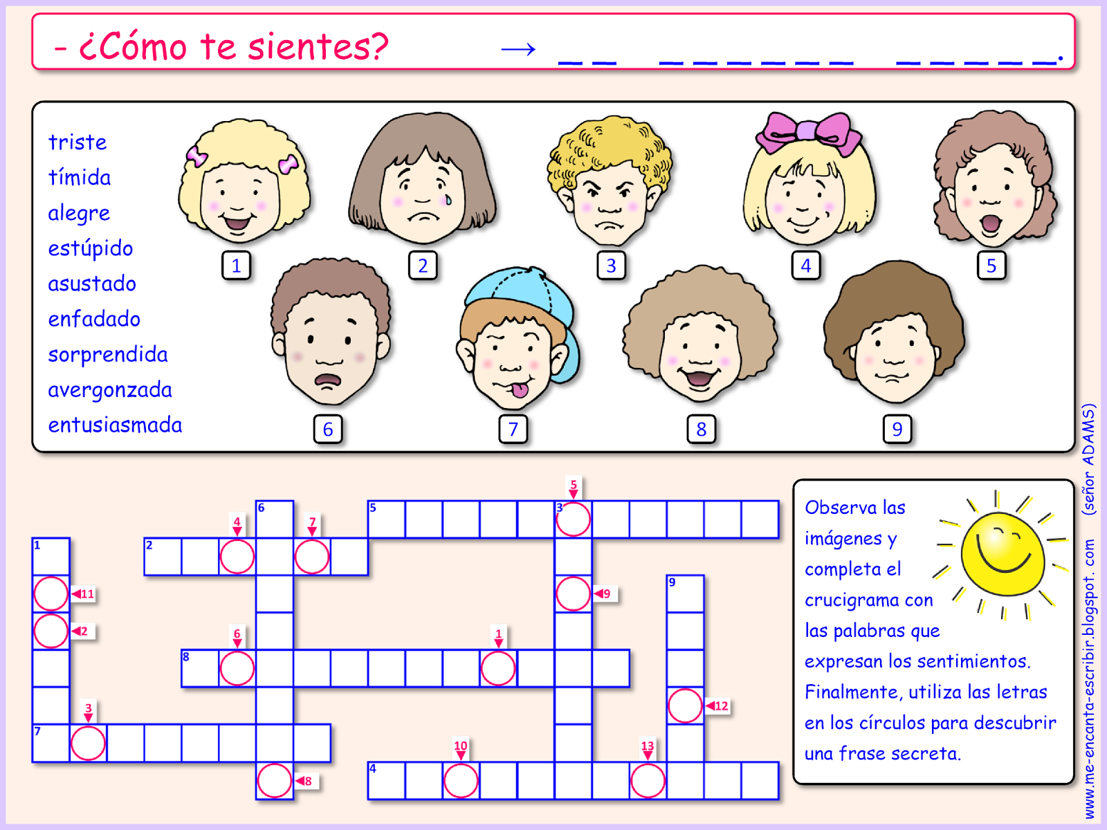 Me Encanta Escribir En Espanol Como Te Sientes